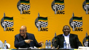 "Ramaphosa lauds Zuma for encouraging ""unity"""