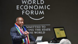 Ramaphosa's 'nine lost years' speech impresses Old Mutual CEO at Davos