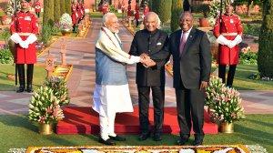 Ramaphosa gets a global Madiba moment, while SA ponders Denel's next step