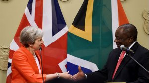 UK Minister for Africa in SA for bilateral talks