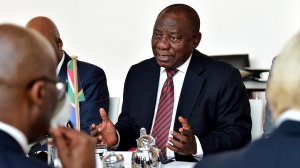 Ramaphosa calls ministers to greater urgency on the economy