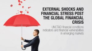 External shocks and financial stress post the global financial crisis