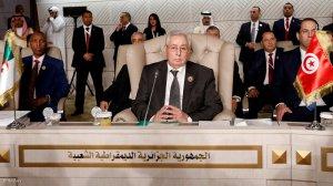 Algerian interim president promises free elections
