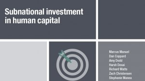 Subnational investment in human capital
