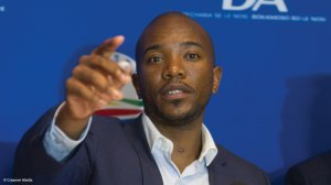 Maimane says recent protests are part of the ANC's plans to discredit the DA