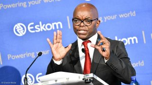 Eskom CEO tries to allay fears of job losses in internal staff memo
