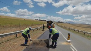 DTPW: Roadworks between Langhoogte and Worcester progressing well