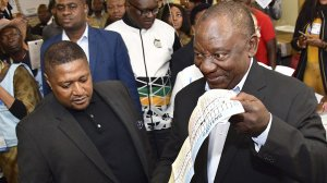 Nothing unusual with IEC chairperson accompanying president to vote – IEC
