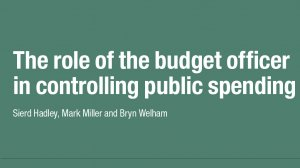 The role of the budget officer in controlling public spending