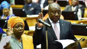 SA's leaders sworn in as MPs