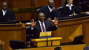 Ramaphosa elected SA president unopposed in National Assembly