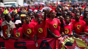NUMSA: NUMSA Members Stage a Sit In At Mines To Protest Against Sexual Harrasment Of A Worker