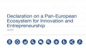 Declaration on a Pan-European Ecosystem for Innovation and Entrepreneurship