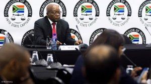 DA: Zuma's first day at Zondo Commission a smoke and mirrors show