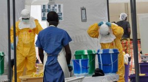 First Ebola patient in eastern Congo's main city dies