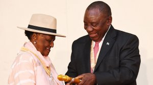 Ramaphosa mourns passing of two legendary South African artists