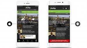 Polity iPhone and Android Apps available for free download