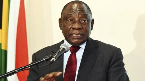 SA: Cyril Ramaphosa: Address by South African President, during a working visit to Egypt, Cairo (10/12/2019)