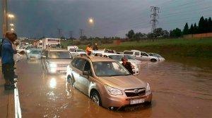 Traffic Advisory: Heavy Rains and Flooding