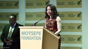 Moloi-Motsepe advocates hard work to 'get things done'