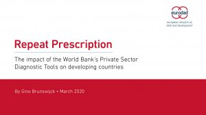 Repeat Prescription: The impact of the World Bank's Private Sector Diagnostic Tools on developing countries
