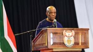 SA: Job Mokgoro: Address by North West Premier, on the North West Provincial Government's 21 days national lockdown programme (26/03/2020)