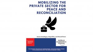 Mobilizing the Private Sector in Peace and Reconciliation