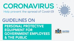 Guidelines On Personal Protective Equipment For Government For Government Employees And The Public
