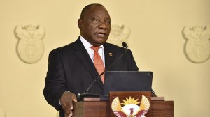 Ramaphosa extends national lockdown till end of April, takes a pay cut