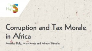 Working Paper 333 - Corruption and Tax Morale in Africa