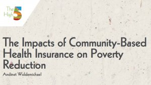 Working Paper 332 - The Impacts of Community-Based Health Insurance on Poverty Reduction