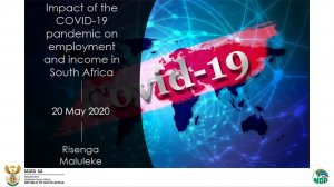 Impact Of The Covid-19 Pandemic On Employment And Income In South Africa