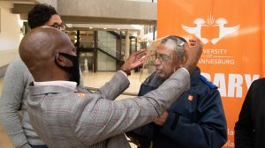 UJ and Investec hand over essential protective gear for City of Johannesburg's frontline workers