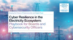 Cyber Resilience in the Electricity Ecosystem: Playbook for Boards and Cybersecurity Officers