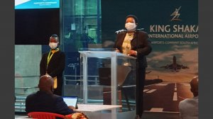 KZN: Nomusa Dube-Ncube, Address by KZN MEC for EDTEA, at the re-opening of King Shaka International Airport, Durban (08/07/20)