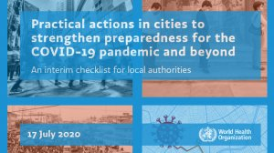 Practical actions in cities to strengthen preparedness for the COVID-19 pandemic and beyond