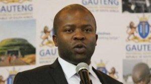 Gauteng Cooperative Governance MEC Lebogang Maile