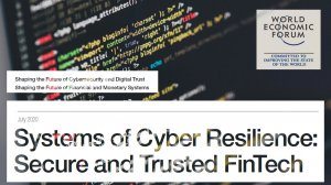 Systems of Cyber Resilience: Secure and Trusted FinTech