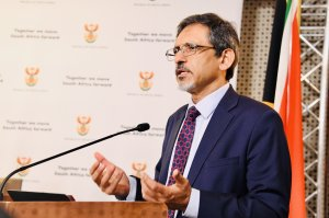 Minister of Trade, Industry and Competition, Ebrahim Patel