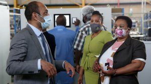 Dube-Ncube congratulates CHEM Energy for opening S Africa's first fuel cell factory