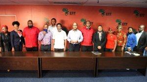 EFF calls off protests following Clicks meeting