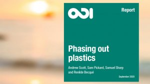 Phasing out plastics