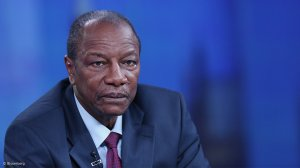 Guinea President Conde wins re-election in landslide - preliminary results