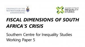 Fiscal Dimensions of South Africa's Crisis