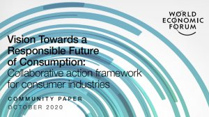 Vision Towards a Responsible Future of Consumption: Collaborative action framework for consumer industries