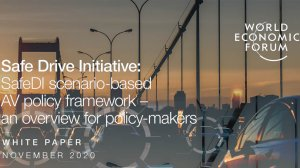 Safe Drive Initiative: SafeDI scenario-based AV policy framework – an overview for policy-makers