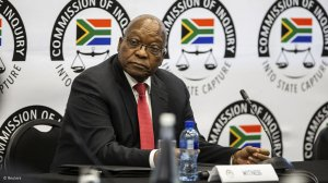 Zuma on relationship with Zondo: I dispute that we were never friends