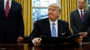Trump says transition to Biden can begin