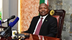 Deputy President David Mabuza convenes an intervention meeting on Maluti-a-Phofung