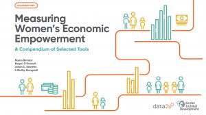 Measuring Women's Economic Empowerment: A Compendium of Selected Tools